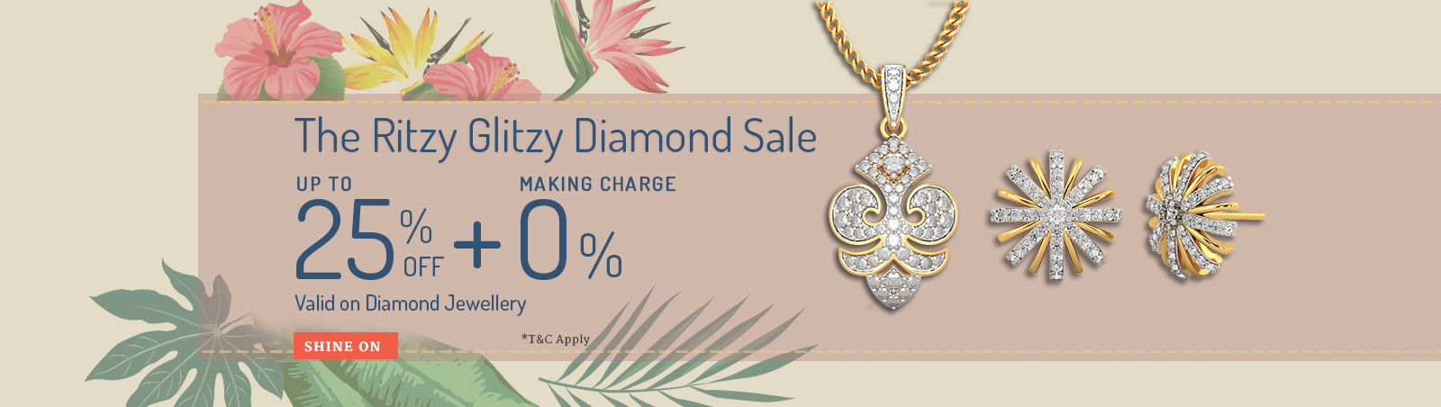 The Ritzy Glitzy Diamond Sale