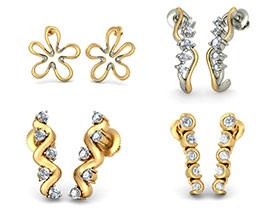 5 Stone Earrings