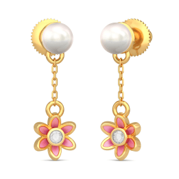 The Floral Pleasure Earrings For Kids