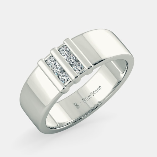 Buy Latest Mens Wedding Ring Designs Online in India 2017 BlueStone