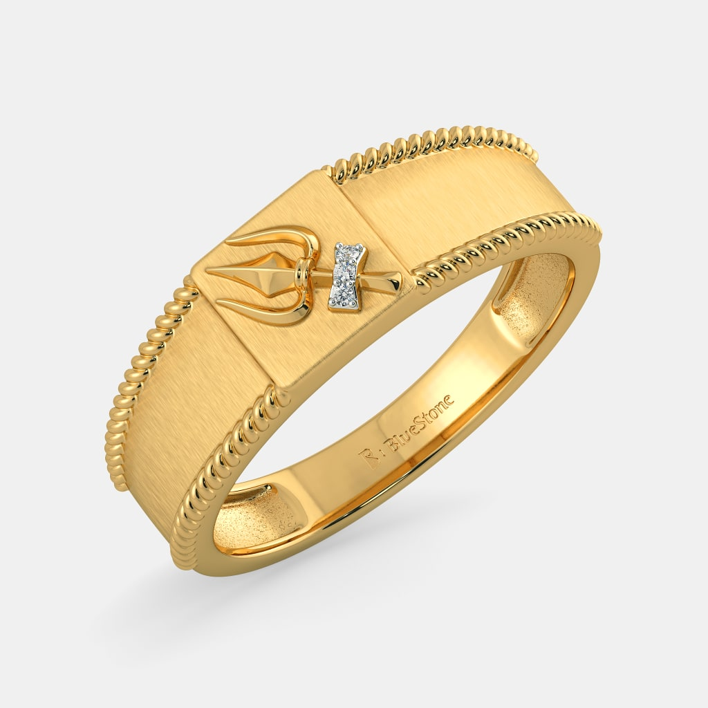 Lord Of The Rings Ring Gold India