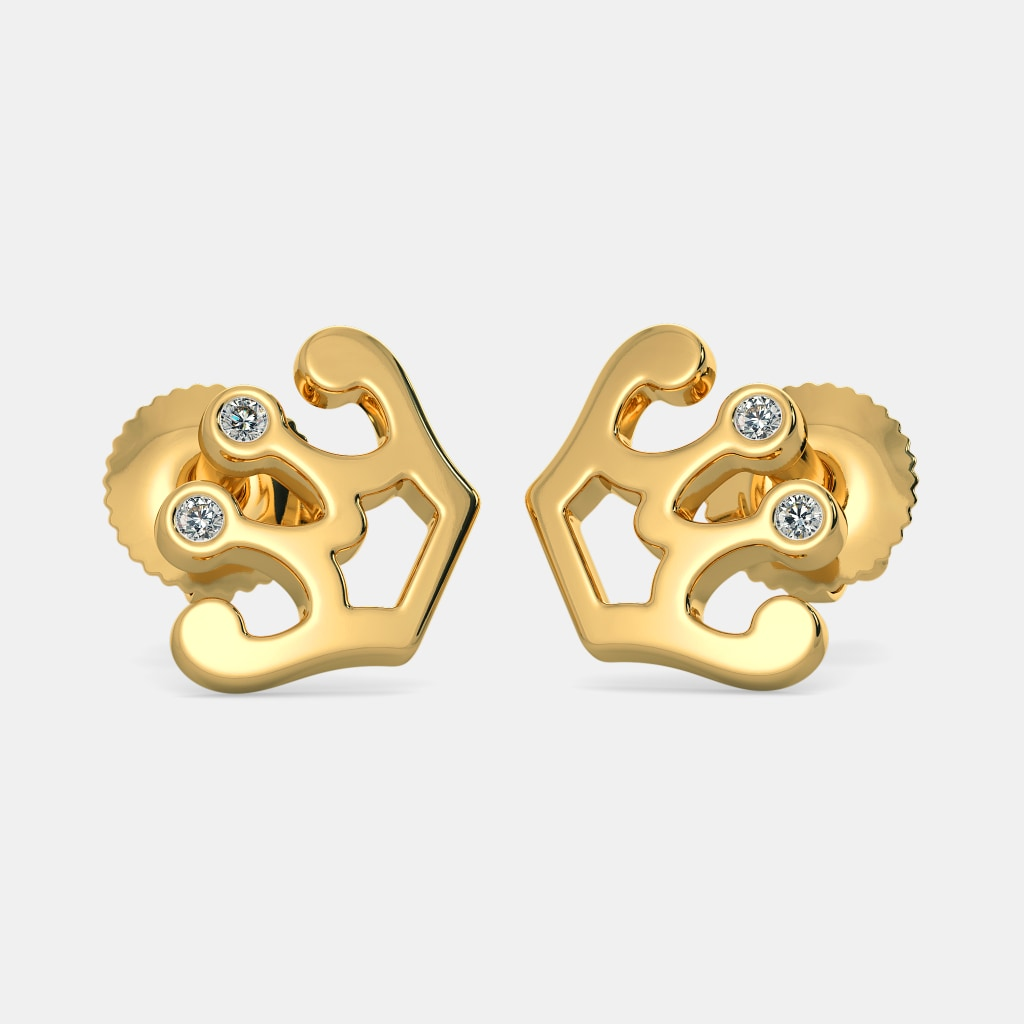 Buy Kids\'s Diamond Earring Designs Online in India 2018 | BlueStone