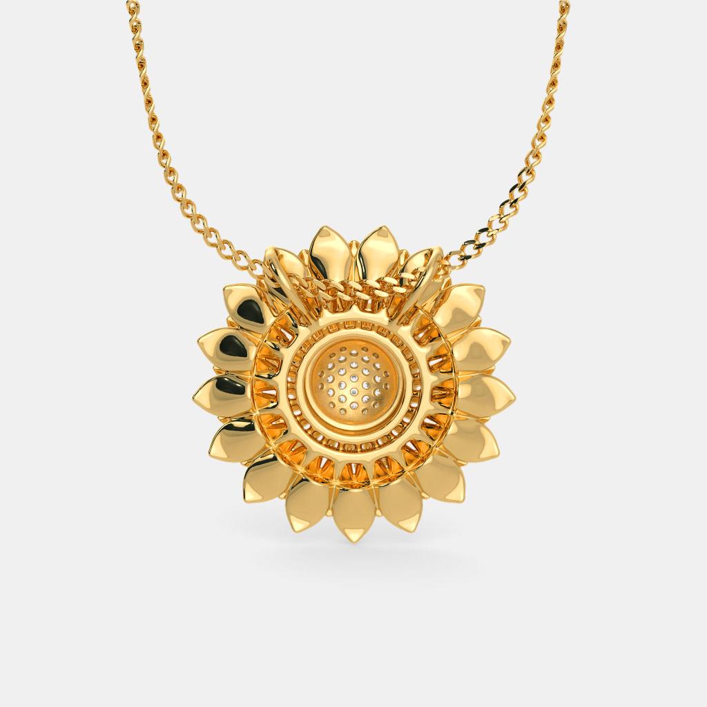 The heavenly sunflower pendant bluestone the heavenly sunflower pendant aloadofball Gallery