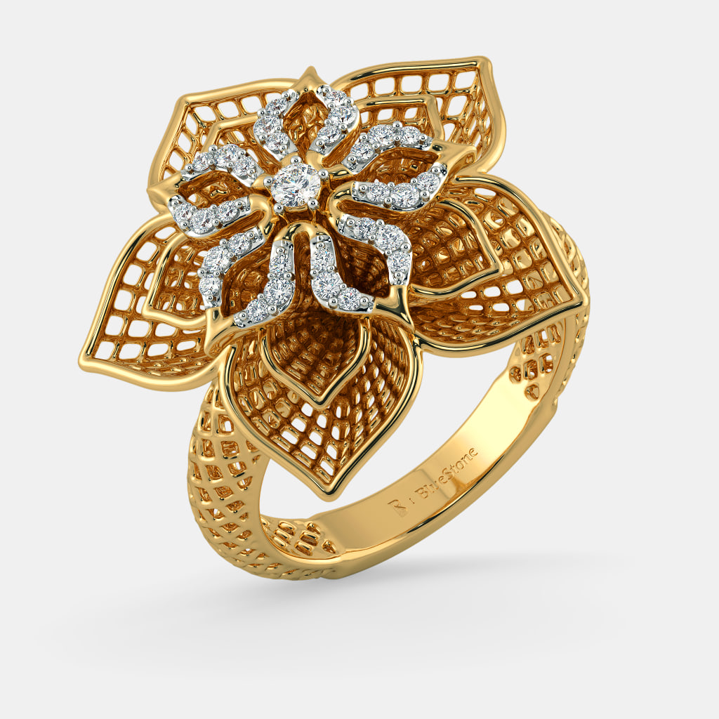 the daffodil lattice ring bluestonecom