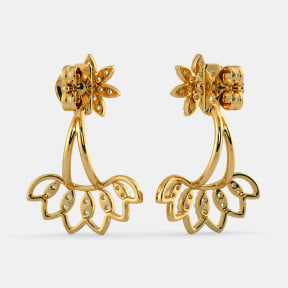 The Sehaj Front Back Earrings
