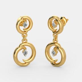 The Luna Drop Earrings