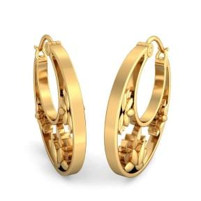 The Padmalakshmi Hoop Earrings