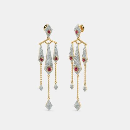 The Shaheen Drop Earrings