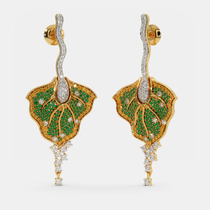 The Anthurium Drop Earrings