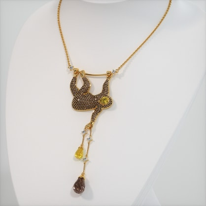 The Sloth Necklace