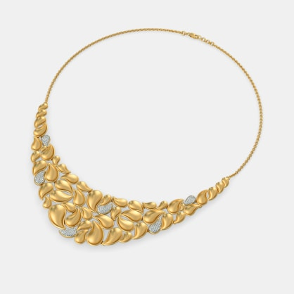 The Agrata Paisley Necklace