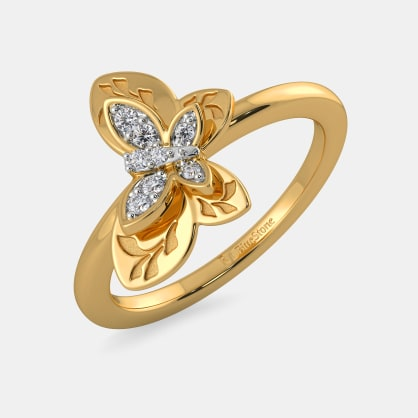 The Regina Butterfly Ring