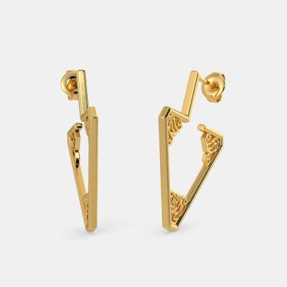 The Triquetra Hoop Earrings