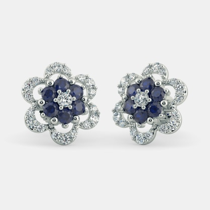The Floral Harmony Stud Earrings