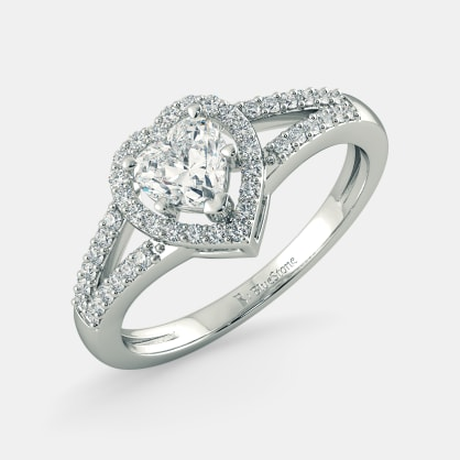 The Heart to Heart Ring Mount