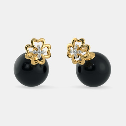The Juhi Onyx Earrings
