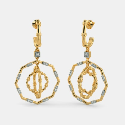 The Ashmiza Drop Earrings