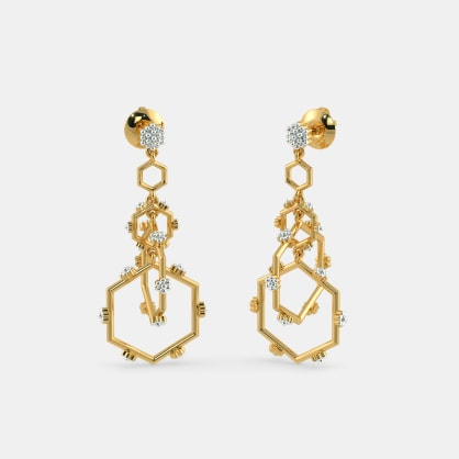 The Milagra Drop Earrings