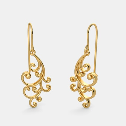 The Artistic Twirl Earrings