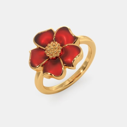 The Fiery Passion Ring