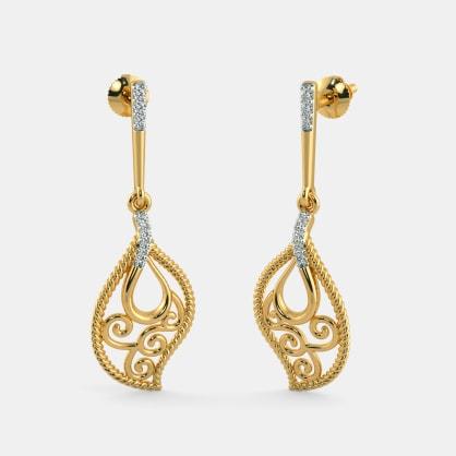 The Blanche Drop Earrings