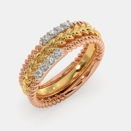 The Areta Stackable Ring