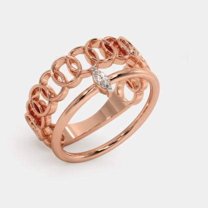 The Bloomy Stackable Ring