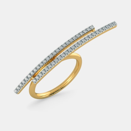The Fabianna Two Finger Ring