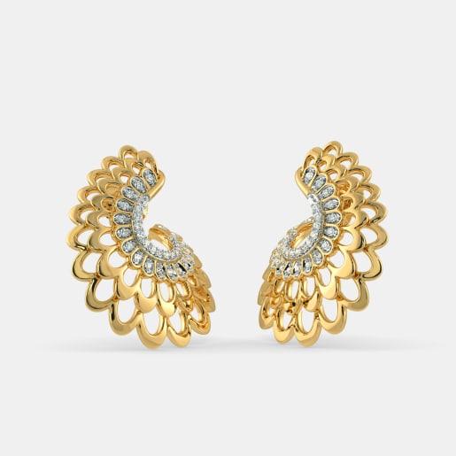 hoops earrings buy 150 hoops earring designs online in india