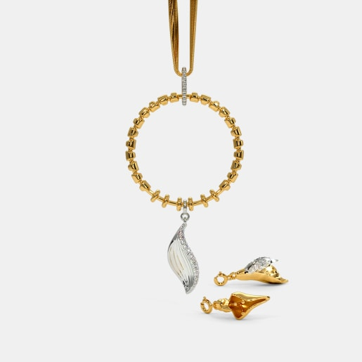 The Foret Flower Convertible Charm Pendant