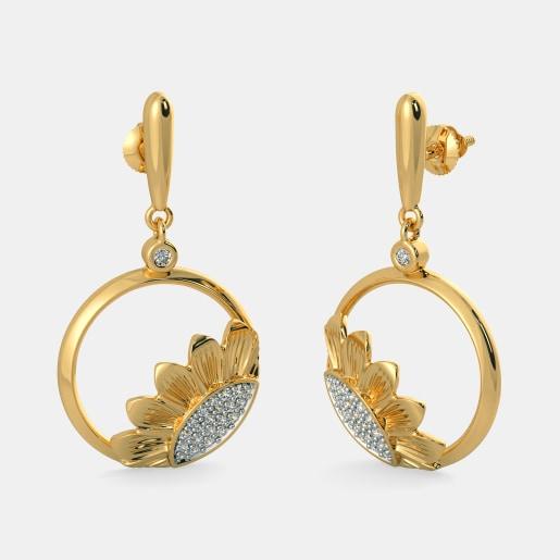 The Delightful Sunflower Earrings