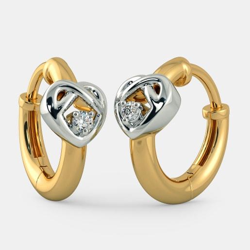 The Alluring Heart Earrings for Kids