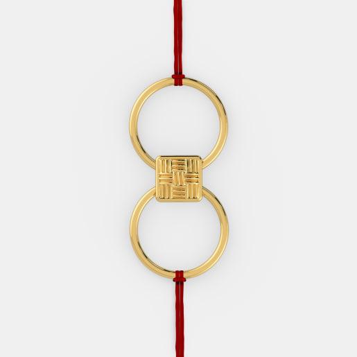 The Blissful Bond Rakhi Ring