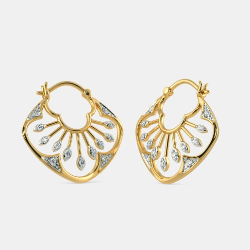 The Tamia Hoop Earrings