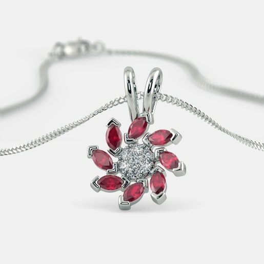 The Flowery Panache Pendant