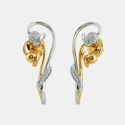 The Rising Lily Earrings