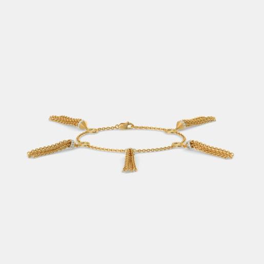 The Charm Tassel Bracelet