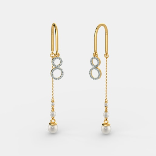 The Elegant Colure Sui Dhaga Earrings