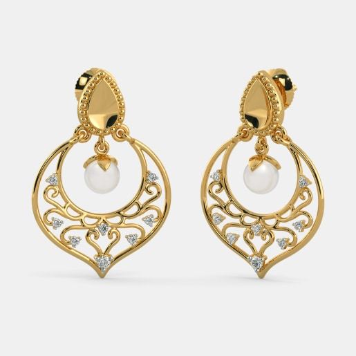 The Nayaab Chand Bali Earrings