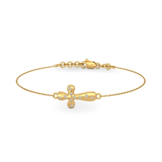 The Abigail Cross Bracelet