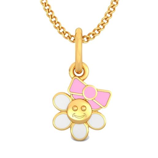 The Floral Princess Pendant For Kids