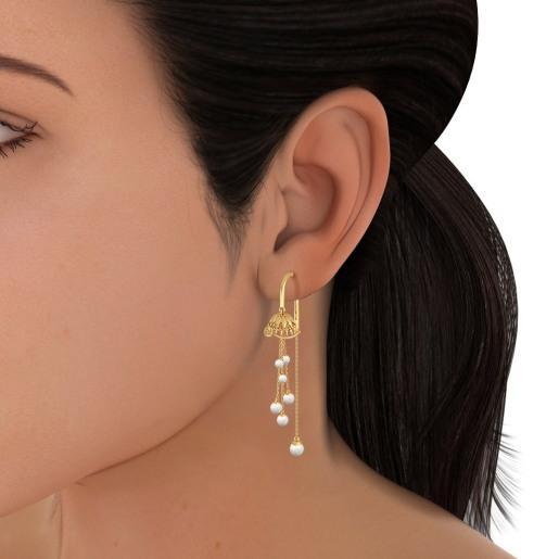 The Ritika Sui Dhaga Earrings