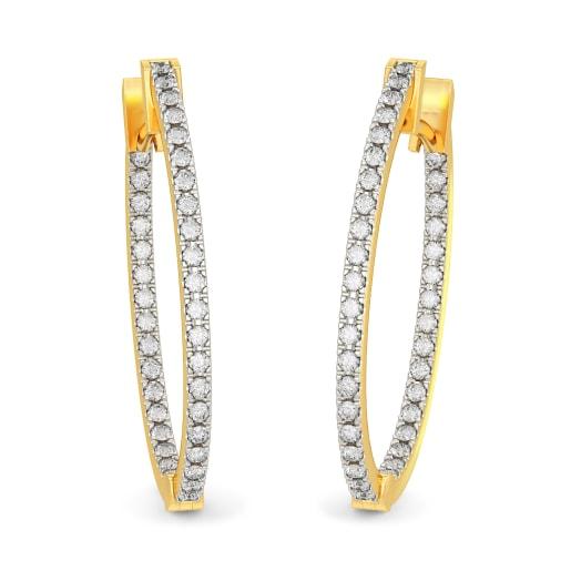 The Kyra Hoop Earrings