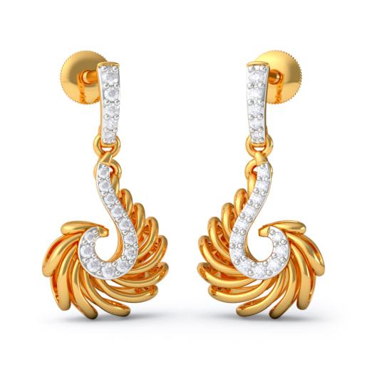 The Amber Drop Earrings