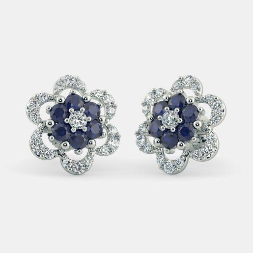 The Floral Harmony Stud Earrings