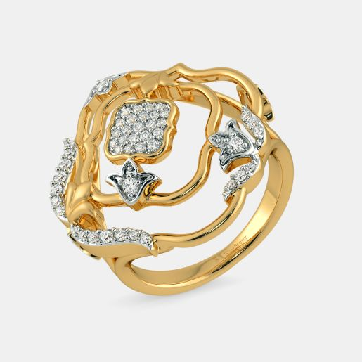 The Ivonne Floral Ring