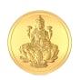 10 gram 24 KT Lakshmi Gold CoinFront