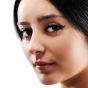 The Caladium Nose Pin
